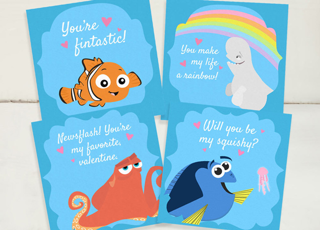 Finding Dory Valentines Day Cards | Free Printable Valentines For Kids