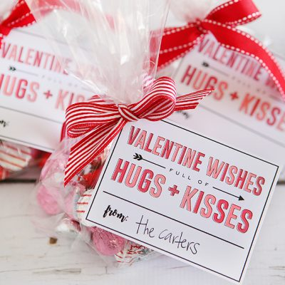 Valentine Wishes Full Of Hugs + Kisses
