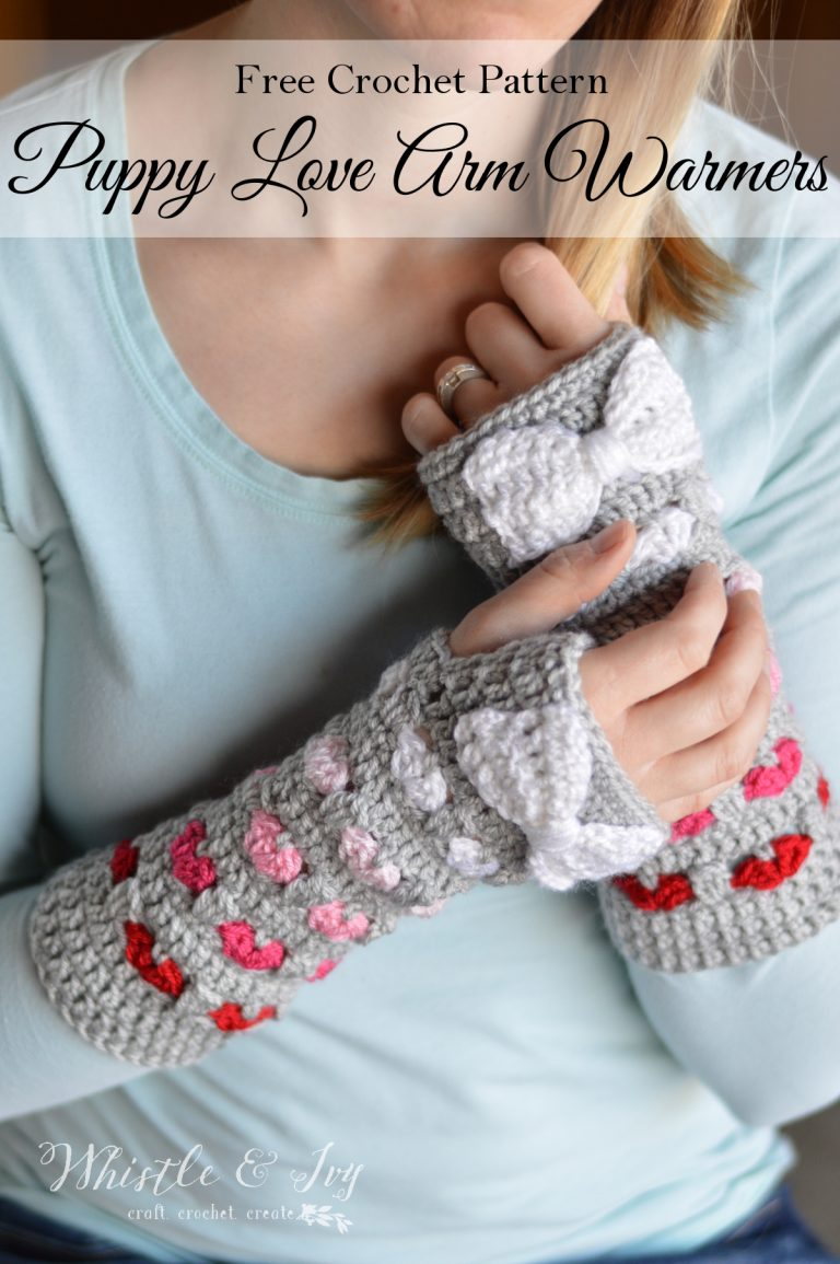 Puppy Love Arm Warmers via Whistle & Ivy
