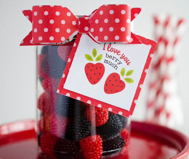 Sweet Valentine Gift Ideas | I Love You Berry Much