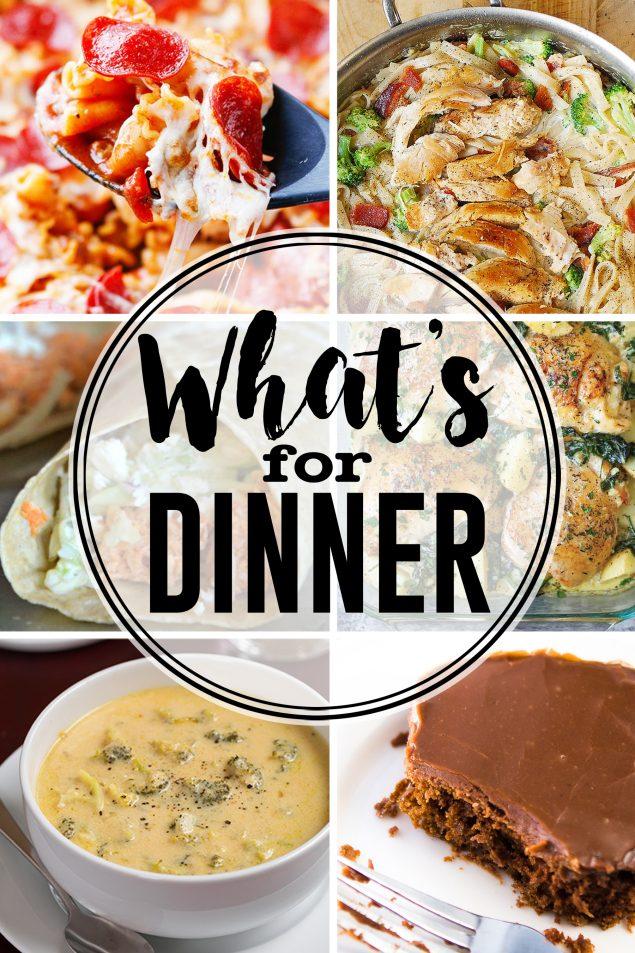 Delicious Dinner Ideas