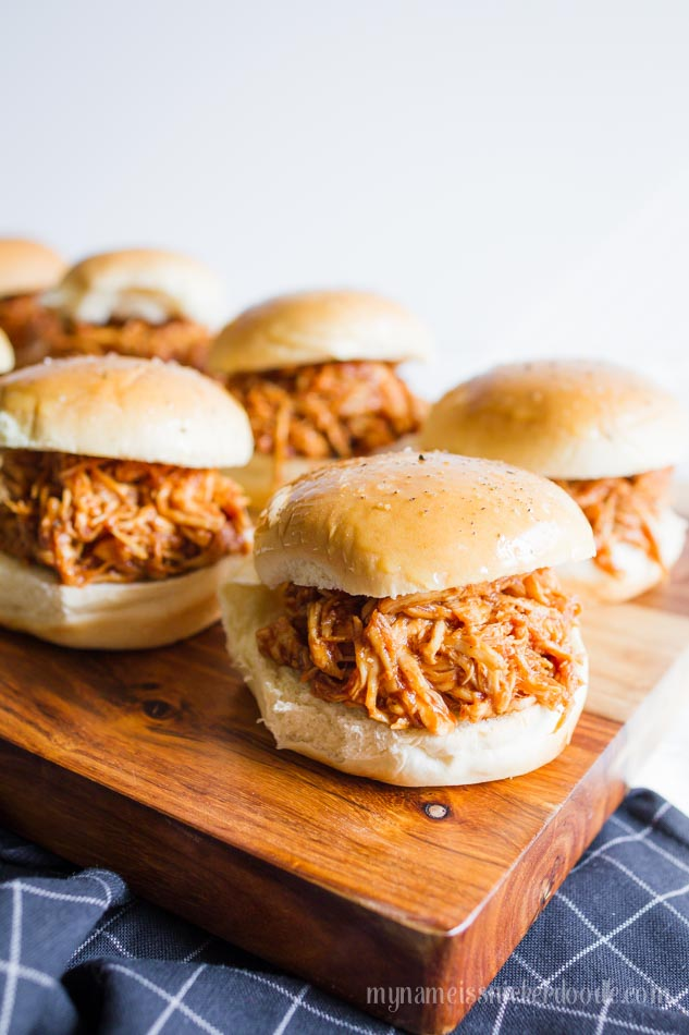 Instant Pot BBQ Chicken Sliders | Instant Pot Recipes