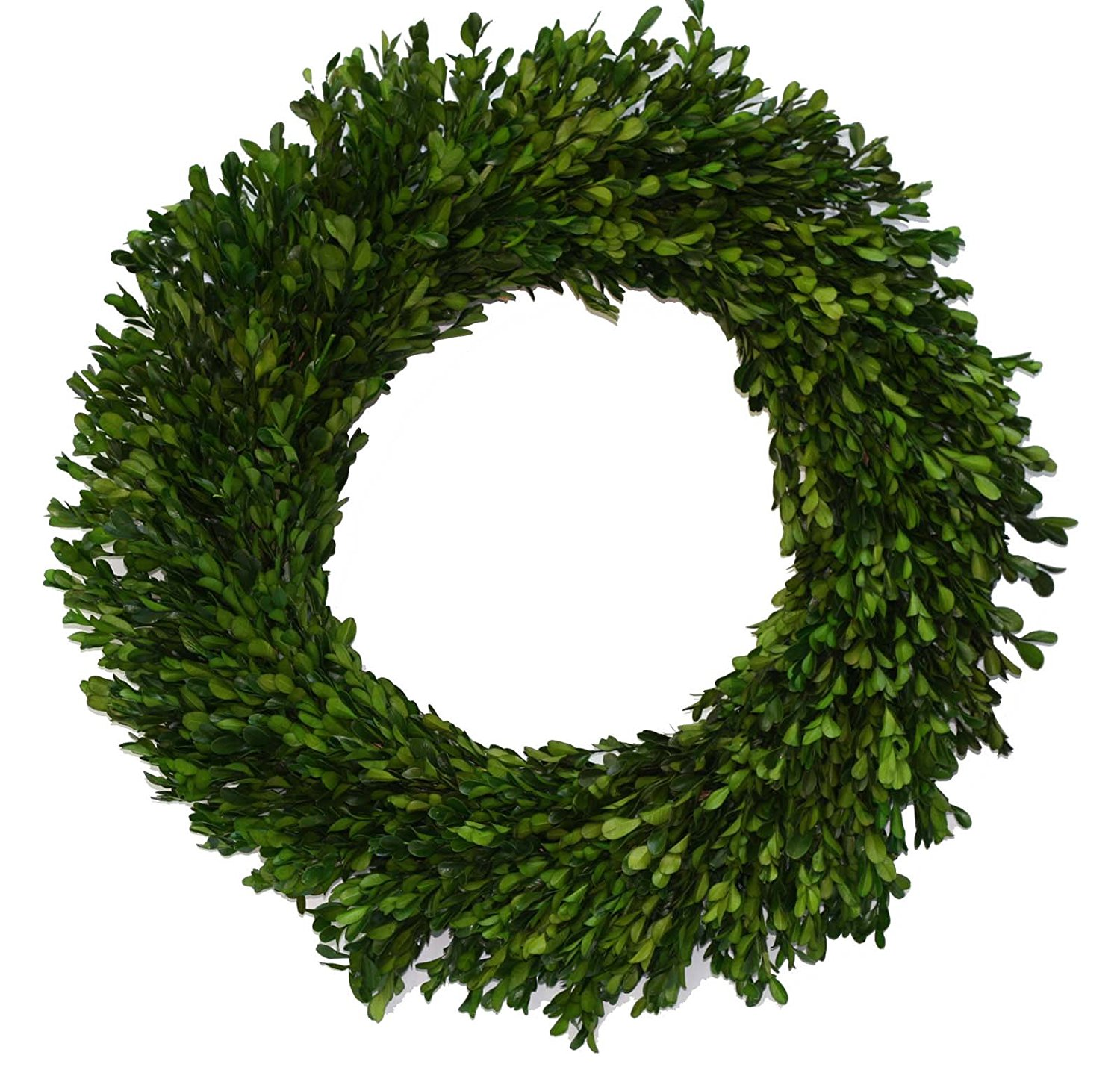 Farmhouse Home Decor | Boxwood Wreath