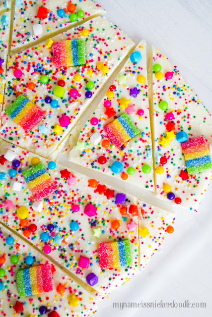 Candy Rainbow Bark