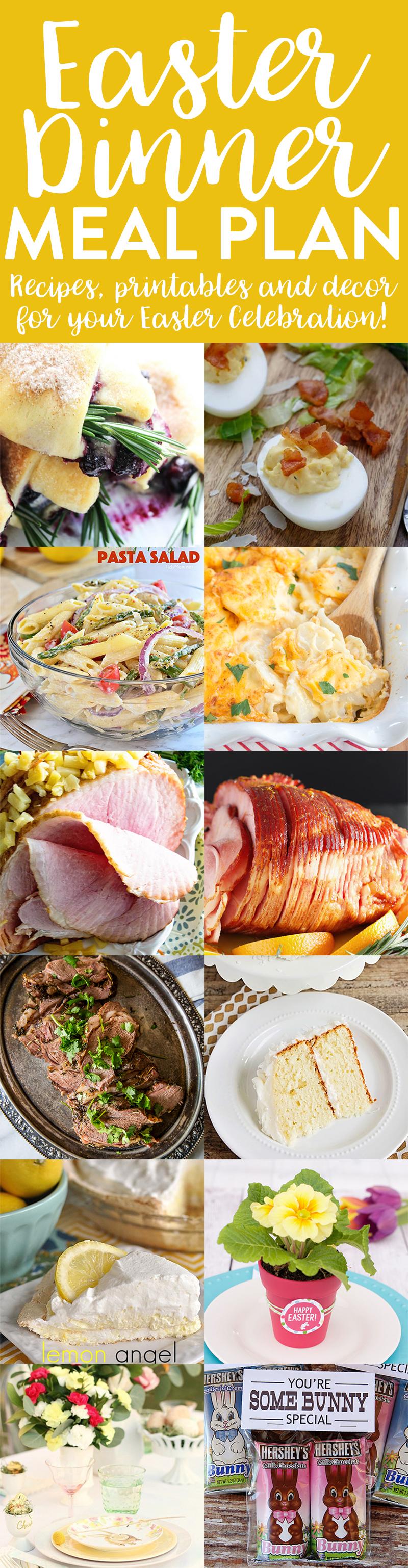 Easter Dinner Meal Plan