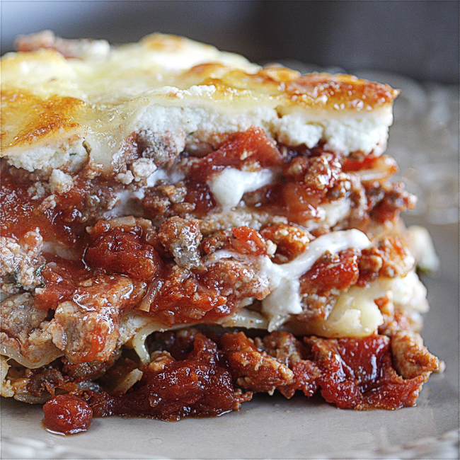 North End Lasagna from The Hopeless Housewife