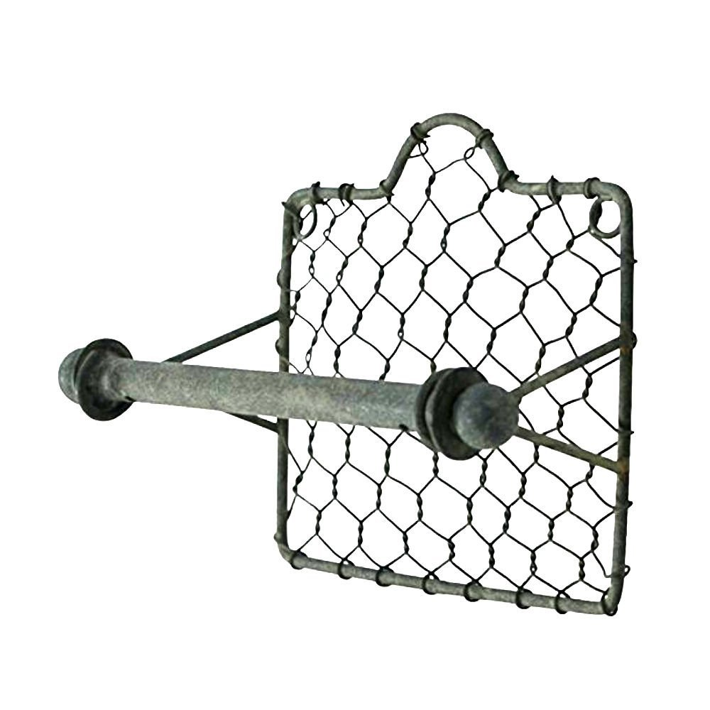 Farmhouse Finds on Amazon | Chicken Wire Toilet Paper Holder