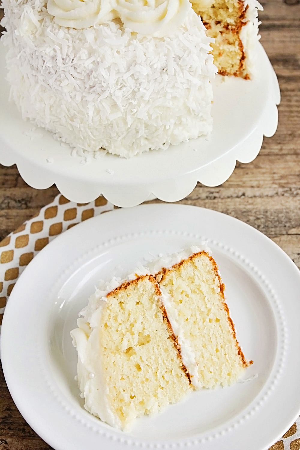 Coconut Layer Cake from The Baker Upstairs