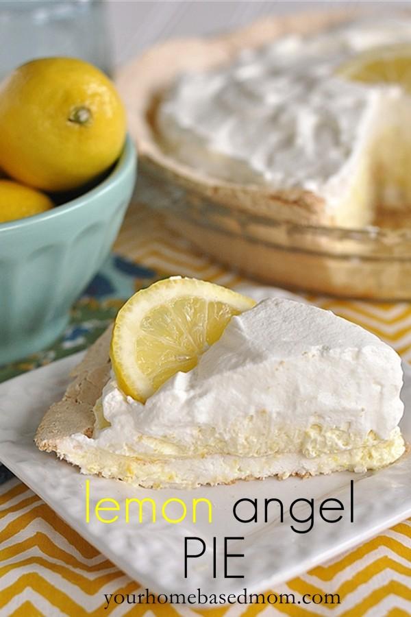 Lemon Angel Pie from Your Homebased Mom