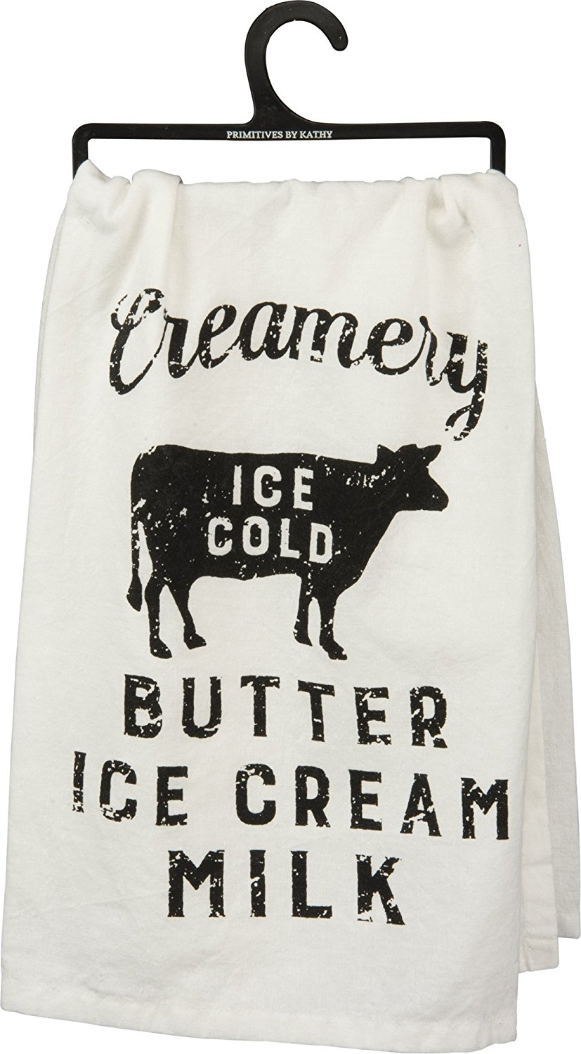Farmhouse Finds on Amazon | Creamery Cotton Kitchen Towel
