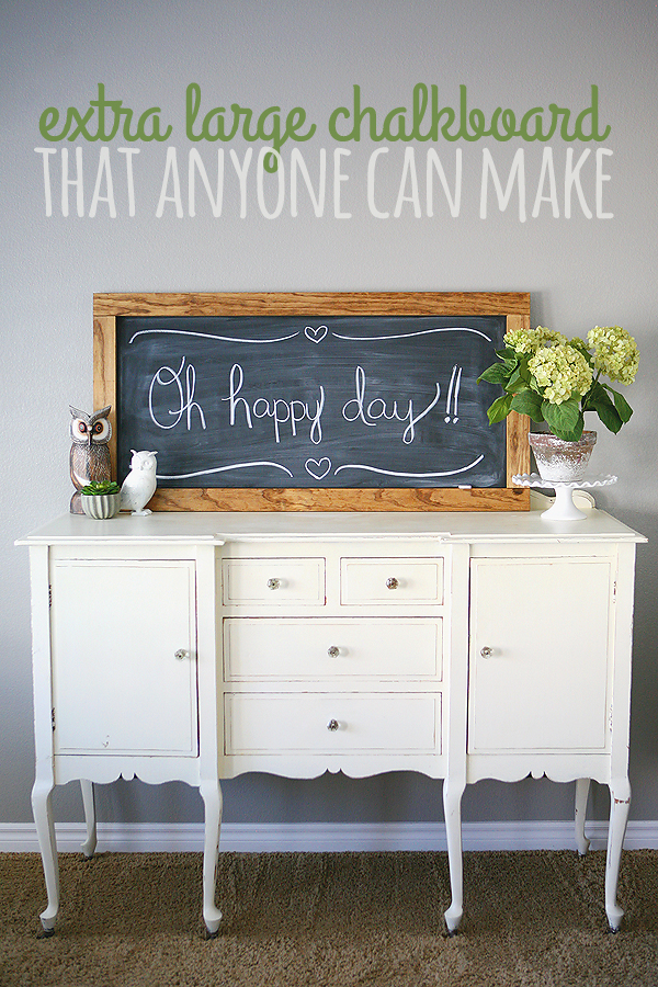 DIY Chalkboard that anyone can make!