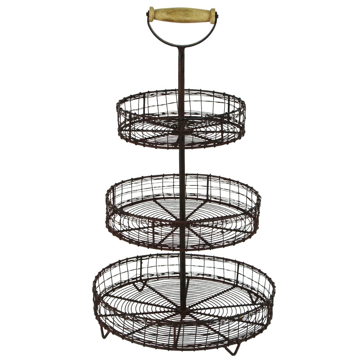 Farmhouse Finds on Amazon | Metal Wire Tier Rack