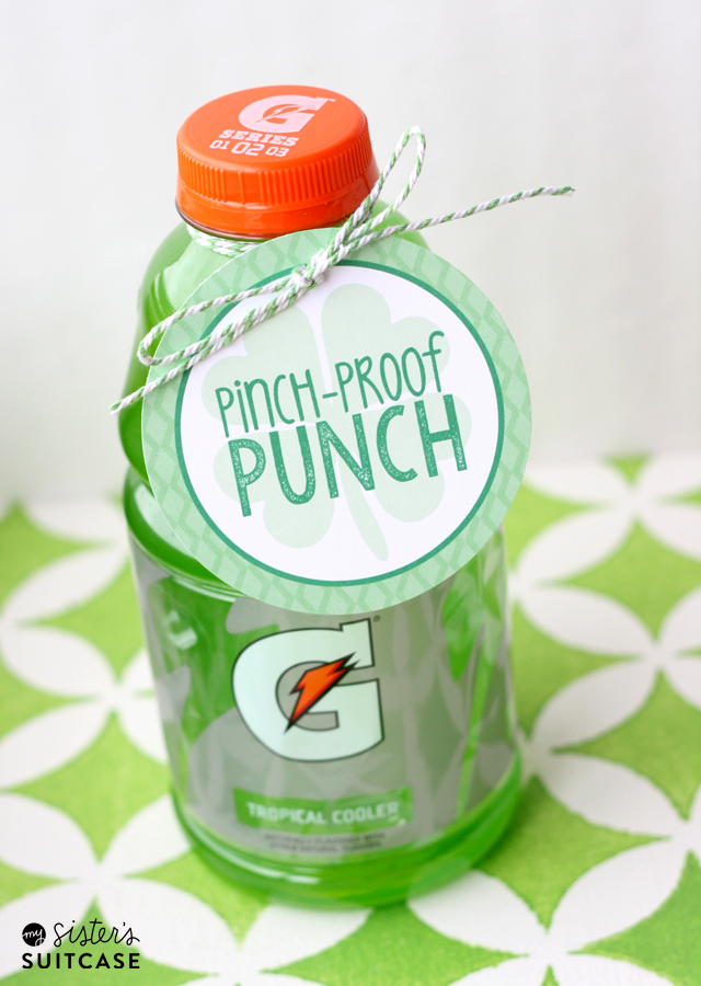 Pinch-Proof Punch | My Sister's Suitcase