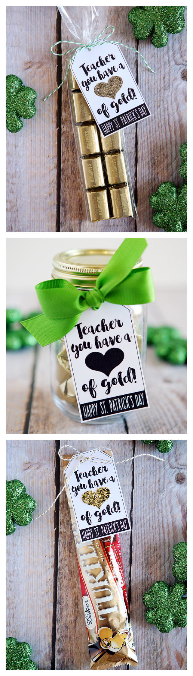 Teacher You Have A Heart Of Gold | St. Patrick's Day Teacher Gift
