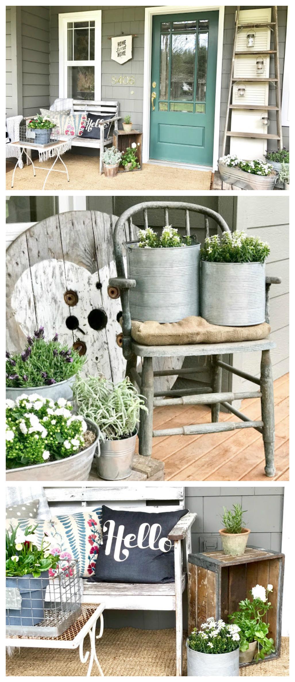 Pretty Front Porch Ideas