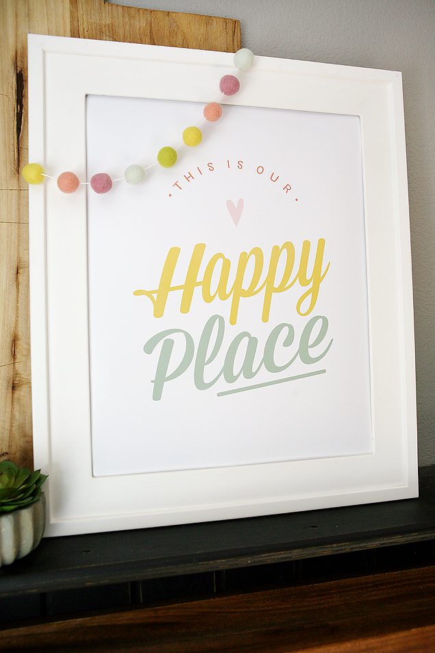Free Printable This Is Our Happy Place