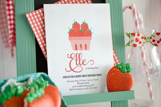 Berry Sweet Farmer's Market Birthday Party