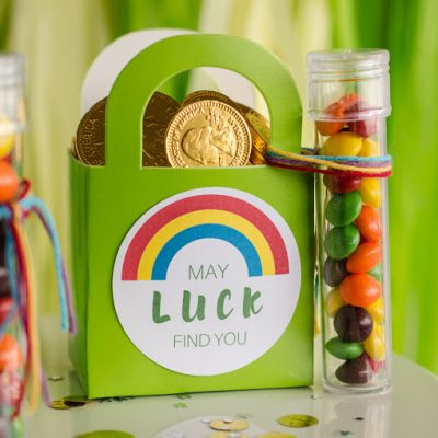 May Luck Find You Leprechaun Goodie Bags