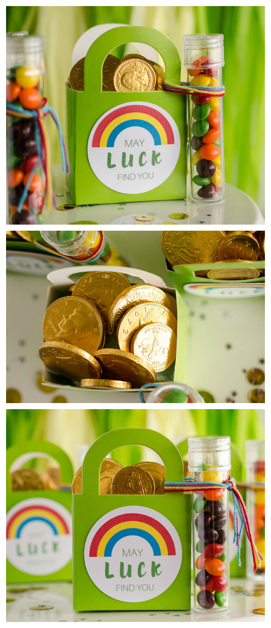 May Luck Find You Leprechaun Goodie Bags   St. Patrick's Day Ideas
