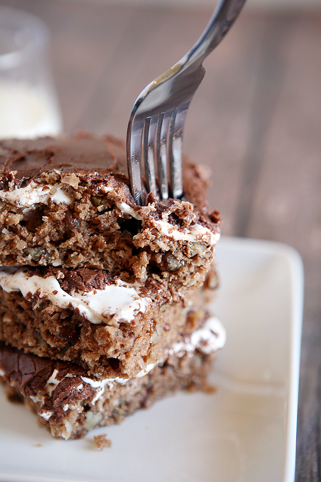 Mississippi Mud Cake Brownies