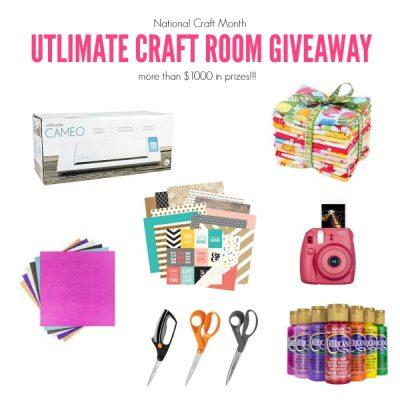 Ultimate Craft Room Giveaway
