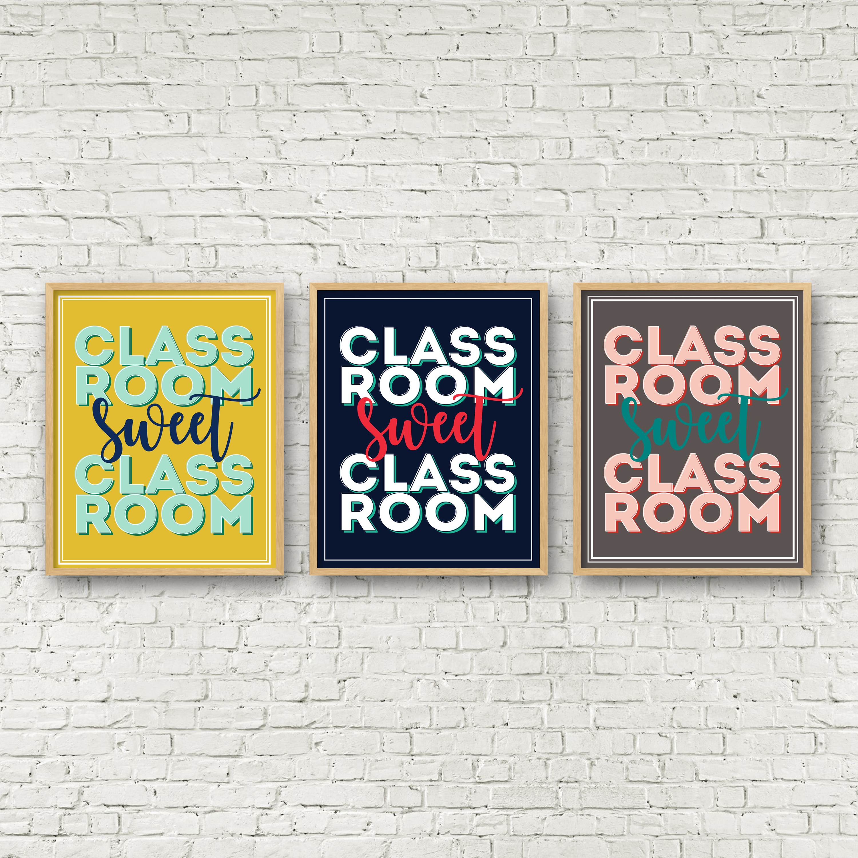 Classroom Sweet Classroom Print | Teacher Appreciation Gift Ideas