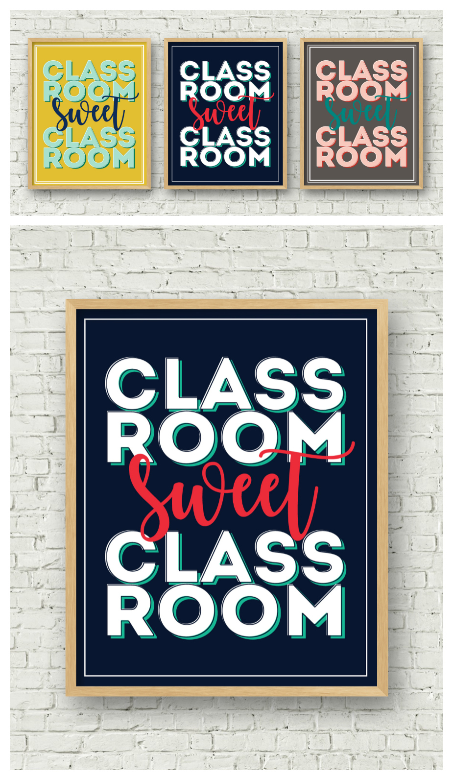 Classroom Sweet Classroom Print | Teacher Appreciation Gift Ideas