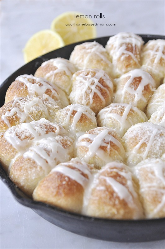 Lemon Pull Apart Rolls from Your Homebased Mom