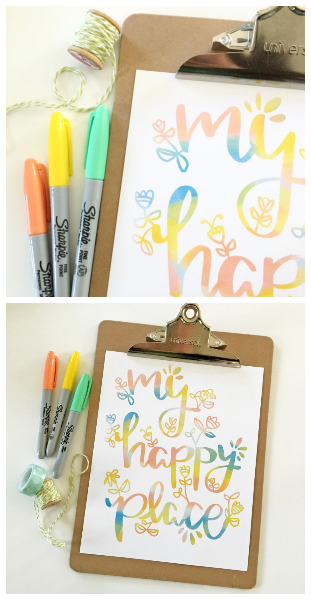 My Happy Place Print | Free Printable Art