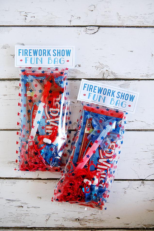 FIREWORKS SHOW FUN BAGS from Eighteen25
