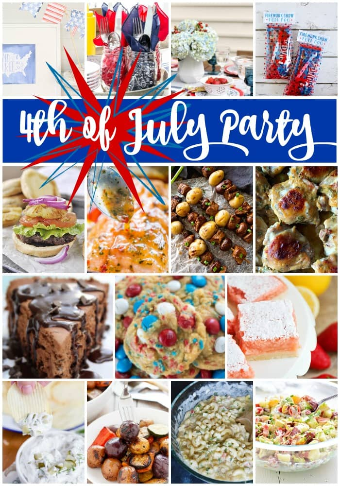 4th of July Party Plan | Recipes and Printables for the 4th of July