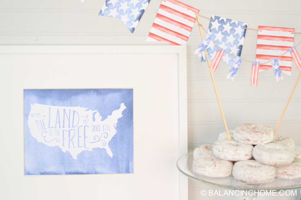 PATRIOTIC PRINTABLE PACK for your 4th of July Party