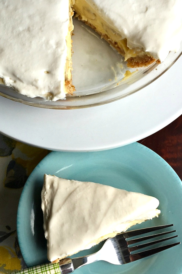 Banana Cream Pie from The Reluctant Entertainer