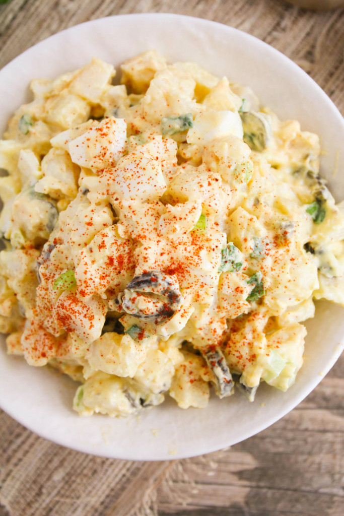 Basic Potato Salad from The Baker Upstairs