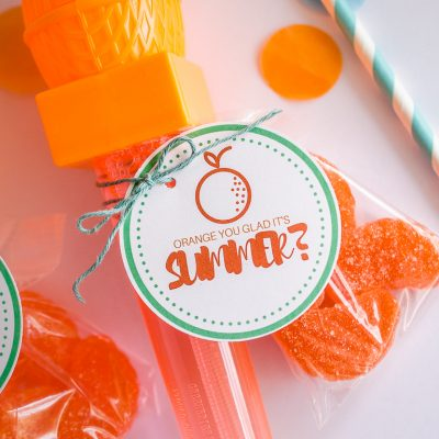 Orange You Glad It's Summer End of School Gifts