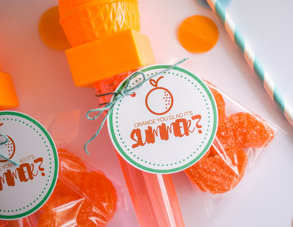 Orange You Glad It's Summer | End of School Gifts