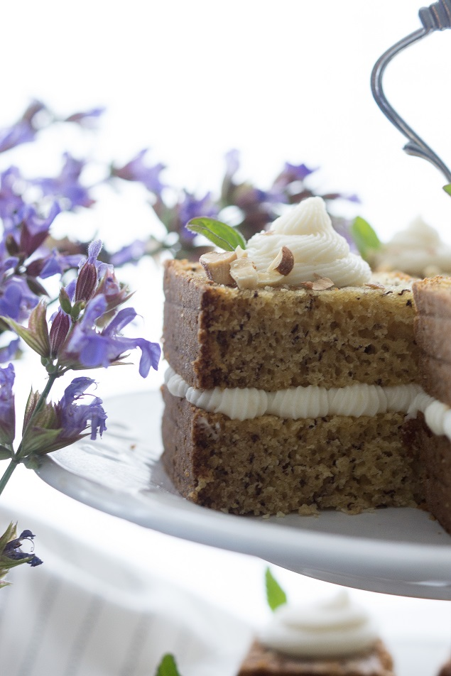 Banana Bread Recipe | Banana Bread with Cream Cheese Frosting