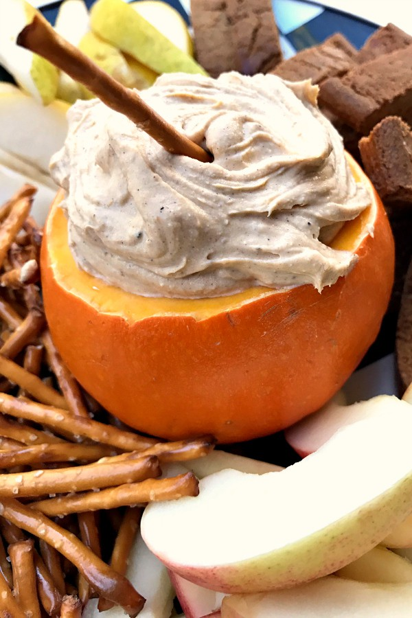 Pumpkin Cream Cheese Dip from Reluctant Entertainer