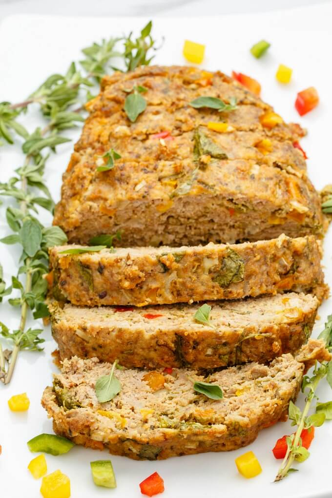 Slow Cooker Turkey Meatloaf from The Cookie Writer.