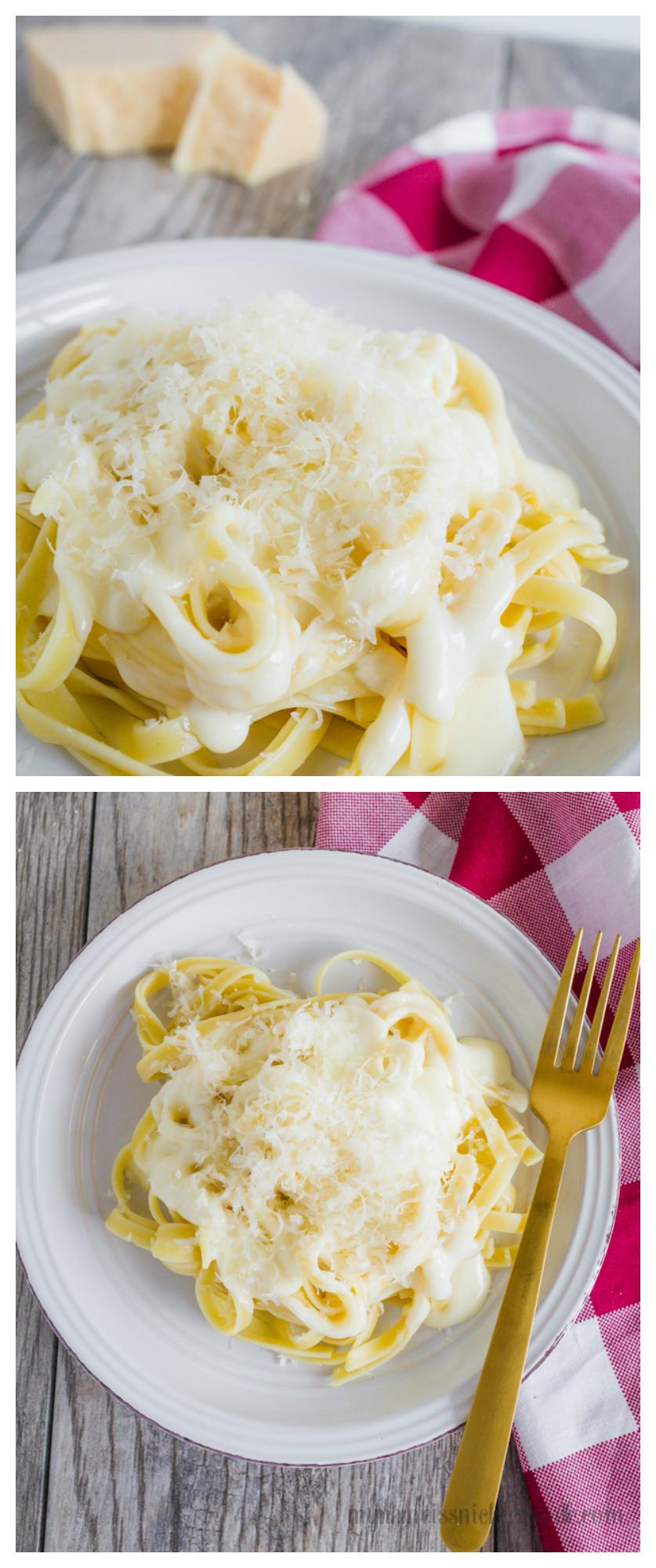 Homemade Alfredo Sauce Recipe | Fettuccine Alfredo - Easy weeknight meal ideas!