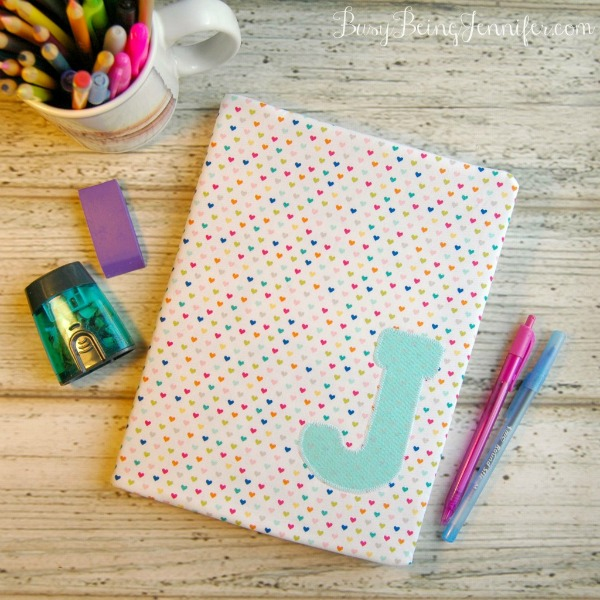 DIY Notebook Cover via Busy Being Jennifer
