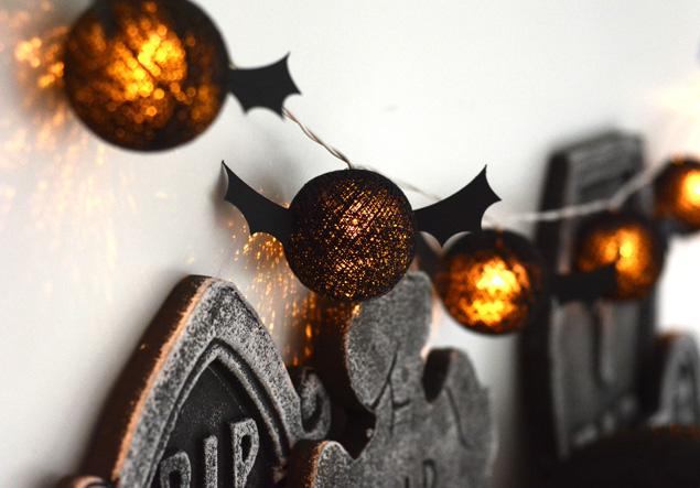 DIY Halloween Bat Party Lights | Fun Halloween Decorations