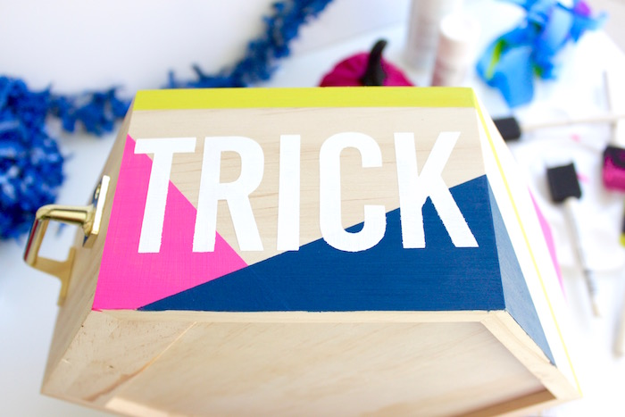 Modern Halloween Candy Bowl-Halloween DIY Candy Bowl
