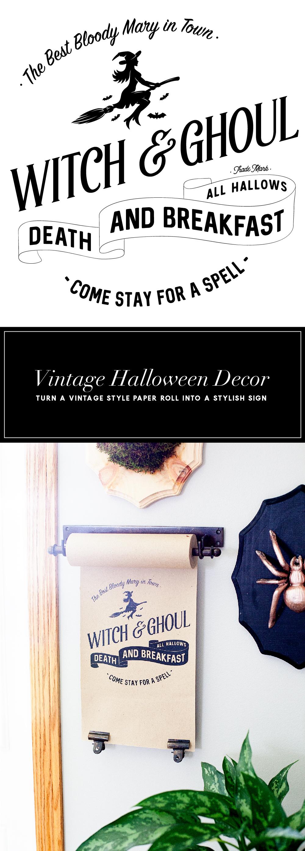 Decorative Halloween Paper Roll - Cute Halloween Decorations