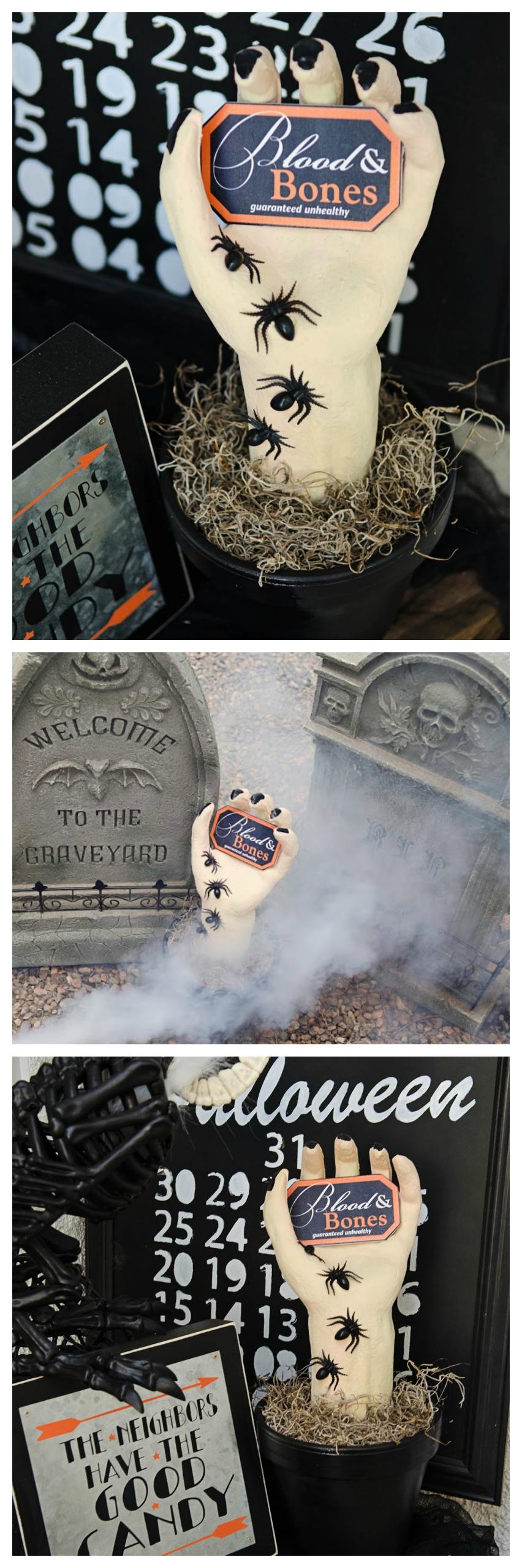 DIY Creepy Halloween Hand | Halloween Crafts