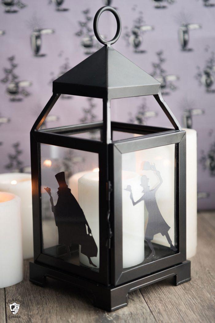 DIY Haunted Mansion Lanterns | Disney Halloween Decorations