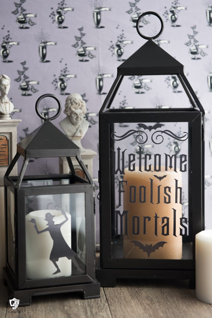 DIY Haunted Mansion Lanterns | Disney Halloween Decorations