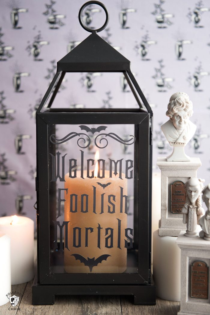 DIY Haunted Mansion Lanterns | Halloween Disney Decorations