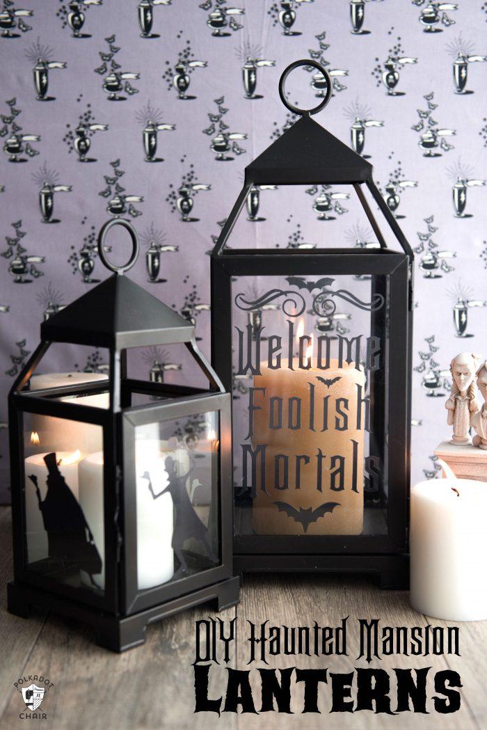 DIY Haunted Mansion Lanterns | Fun Halloween Crafts