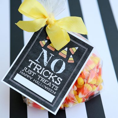 No Tricks Just Treats Tags